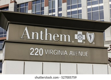 Indianapolis - Circa November 2016: Anthem World Headquarters. Anthem is a Trusted Health Insurance Plan Provider X
