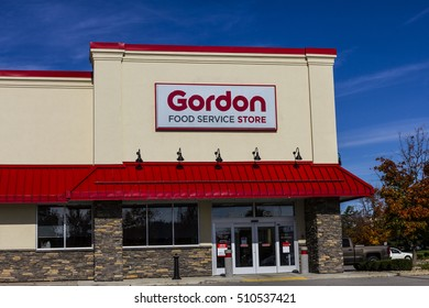 Indianapolis - Circa November 2016: Gordon Food Service Store. GFS is the largest privately held foodservice distributor in North America II