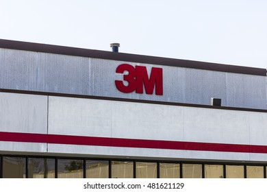 Indianapolis - Circa September 2016: 3M Plant. 3M Indianapolis is a Personal Safety Division facility that manufactures varieties of hearing protection I