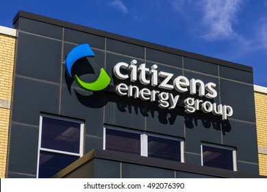 Indianapolis - Circa September 2016: Citizens Energy Group, a broad-based utility service company II