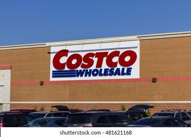 Indianapolis - Circa September 2016: Costco Wholesale Location. Costco Wholesale is a Multi-Billion Dollar Global Retailer VI