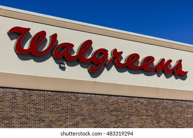 Indianapolis - Circa September 2016: Walgreens Retail Location. Walgreens is an American Pharmaceutical Company VI