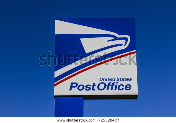 Indianapolis - Circa September 2017: USPS Post Office Location. The USPS is Responsible for Providing Mail Delivery VI
