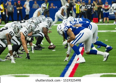 - Indianapolis Colts host the Oakland Raiders on 9/29/19 at Lucas Oil Stadium in Indianapolis IN-USA
