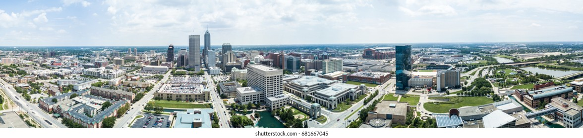 Indianapolis - Drone view