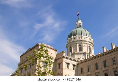 Indianapolis Indiana state capitol building