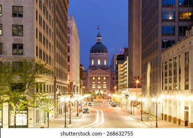 Indianapolis Morning - Market Street