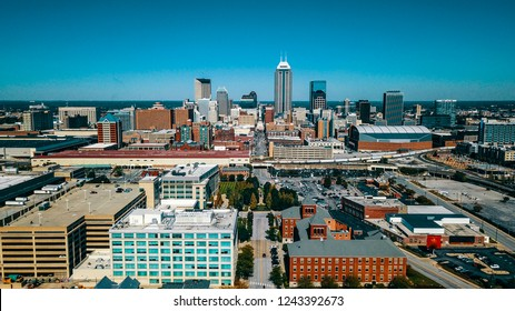 Indianapolis Skyline from the South