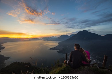 Indian's Nose is a viewpoint over the most beautiful lake on the world. Lake Atitlan is surrounded by six volcanos some of them the most active in the world, an amazing place to camp and enjoy nature.