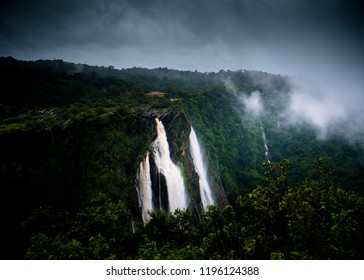 India's biggest waterfall the Jog Falls from Karnataka State