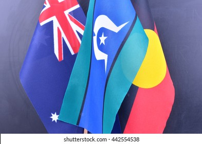 Indigenous Australia and Flags