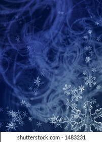 indigo midwinter snowstorm