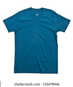 Indigo tshirt template ready for your own graphics.