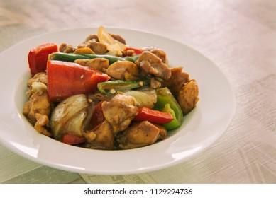 Indo-chinese Chili Chicken