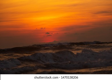 Indonesia, Bali - Sunset with Ocean view. Skyscape. Indonesia, Bali -