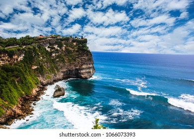 Indonesia Bali Ulu Watu Cliff Photographed in October 2016