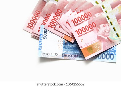 Indonesia banknote / The rupiah is the official currency of Indonesia.
