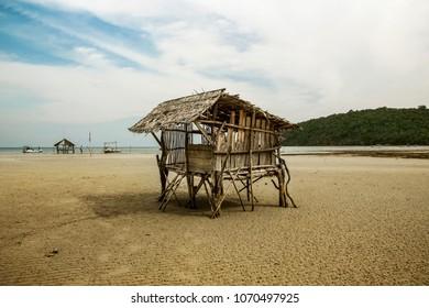 Indonesia beach hut