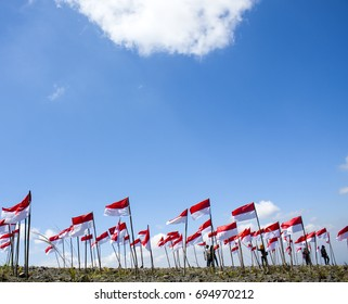Indonesia, Independence day and thousand flags