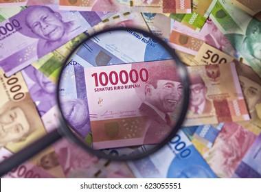 Indonesia Rupiah Money Bank Notes