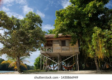 Indonesia Togian Island Palmtree Beachhouse Asia