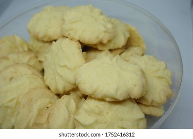 Indonesia traditional danish cookie or known as Kue kering also known for kue lebaran. Indonesia ramadan cookie. Indonesia traditional cookie or known as kue kering.