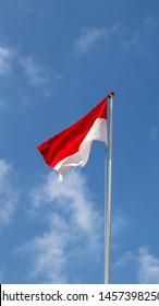 berkibar bendera images stock photos vectors shutterstock https www shutterstock com image photo indonesian flag on independence day bendera 1457398250