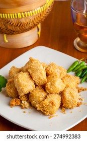 Indonesian Food Crispy Tofu Traditional