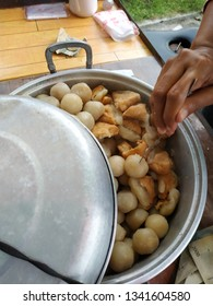 Indonesian food siomay