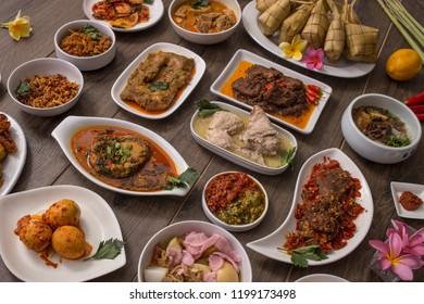 Indonesian Padang Food