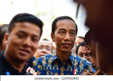 "Indonesian President Joko ""Jokowi"" Widodo at the International Monetary Fund/World Bank annual meetings held on Nusa Dua, Bali, Indonesia on Oct. 12 2018"