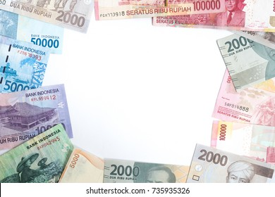 Indonesian rupiah for background.