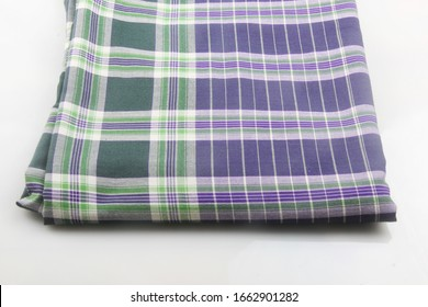Indonesian sarong motif with grid pattern. sarong for prayer and religious celebration day