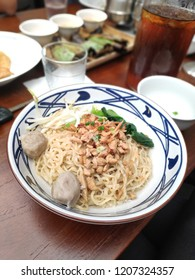 Indonesian traditional Food - Mie Bangka