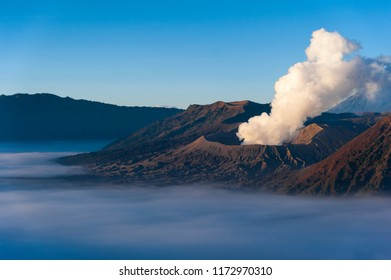 The Indonesian volcano.