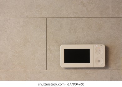 Indoor Brick Wall Design, Intercom