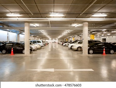 Indoor car parking/garage