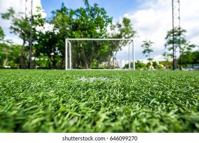Indoor Football (soccer) Field in park