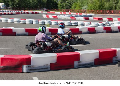 Indoor karting race