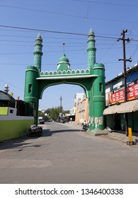 Indore, Madhya Pradesh, India - March 6 2019 : Khajrana Gate, Nahar Shah Wali Sarkar Dargah