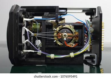 Induction of coil in VOR/LOC Indicator , Avionics equipment.