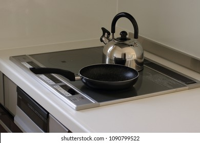 induction cooker kitchen