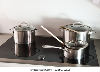 induction cookware in the kitchen