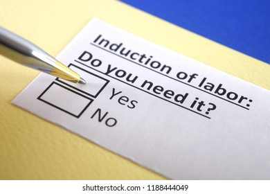 Induction of labor: do you need it?