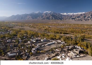 Indus Valley near Tiksey, Ladakh, India
