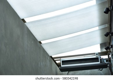 Industrial air condition and ceiling window