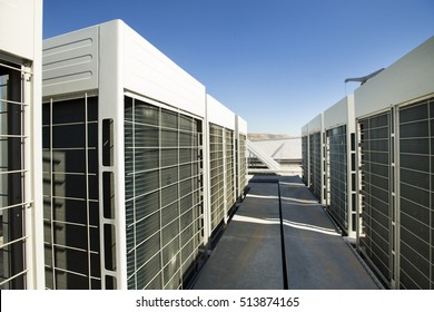 Industrial air conditioner.