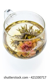 Industrial arts tea (dishes prepared with medicinal herbs) of the peony