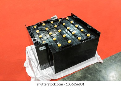 Industrial battery for forklift truck ;traction battery