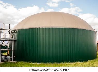 industrial biogas plant